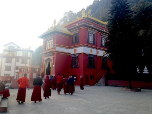 Red Temple, near Tsering's house