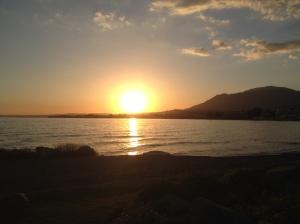 sunset Marblla