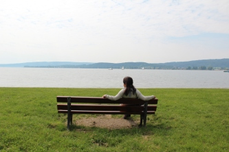 Contemplation at Reichenau island!