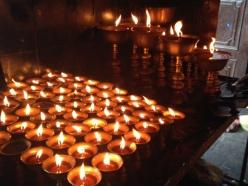 candels everywhere